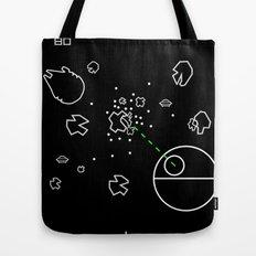 Retro Star Wars Arcade Alderaan Asteroids Tote Bag