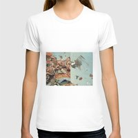 italy T-shirts featuring Little Italy by Paul Prinzip