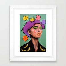 F*CK fame Framed Art Print