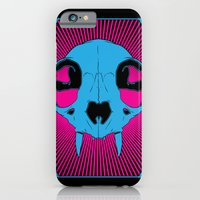 iPhone & iPod Case featuring The Cats Meow by Matthew Bartlett