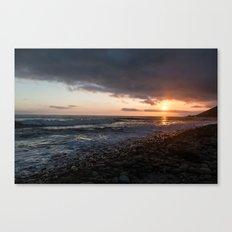 Emma Wood Sunset Canvas Print