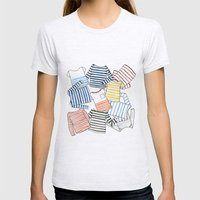 La Marinière Womens Fitted Tee Ash Grey SMALL