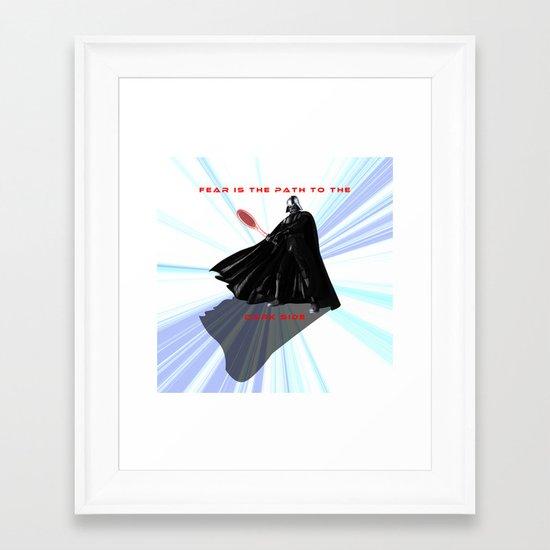 Star... Squasher Framed Art Print