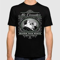 Wafer Thin Mints Mens Fitted Tee Black SMALL