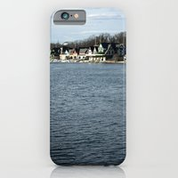 iPhone & iPod Case featuring Boathouse Row by Kristi Jacobsen Photography