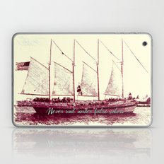 Never sail under false colors Laptop & iPad Skin