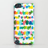 iPod Touch Cases featuring Paradise Dots by Jacqueline Maldonado