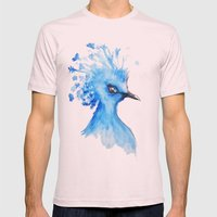Blue Bird Mens Fitted Tee Light Pink SMALL