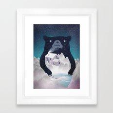 I ♥ Winter Framed Art Print