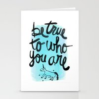 Be True Stationery Cards