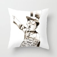The POPO' Paperboy Throw Pillow