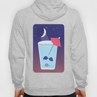 Waxing Waterglass Moon  Hoody