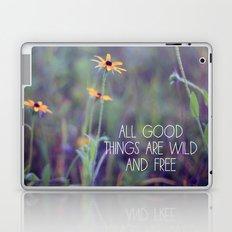 All Good Things (Daisy) Laptop & iPad Skin