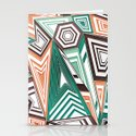 Funky in the Middle Stationery Cards
