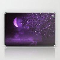 PURPLE MOON Laptop & iPad Skin