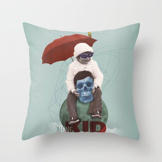 KID HERO Throw Pillow