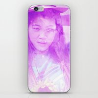 Galaxy Girl iPhone & iPod Skin