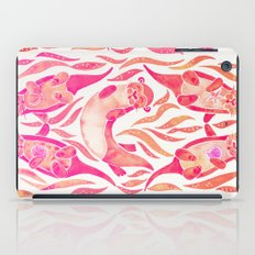 Five Otters – Pink Ombré iPad Case