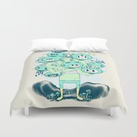 Many Heads Are Better Th… Duvet Cover