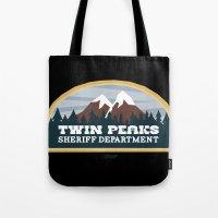 Twin Peaks Sheriff Department (Redux) Tote Bag