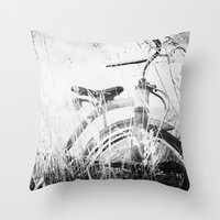 Vintage Play Throw Pillow
