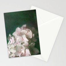 Textured Pink Hydrangea Stationery Cards