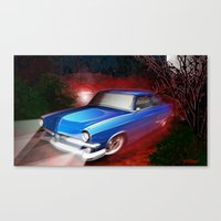 'Shine Runner Canvas Print