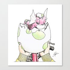 Hatched! Canvas Print