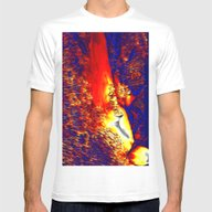 Unknown Terrain Mens Fitted Tee White SMALL