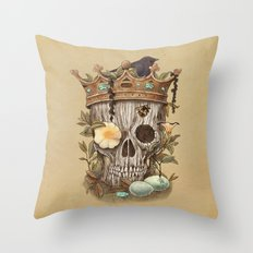 Nature's Reign  Throw Pillow