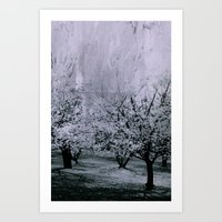 Spring Abstract Art Print