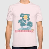 Cinderella Mens Fitted Tee Light Pink SMALL