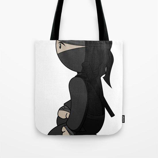 Ninja Crouch Tote Bag