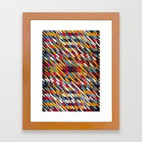Texturize Framed Art Print