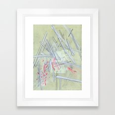 Ultimate Vacation Dream Home Framed Art Print