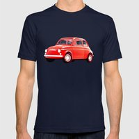 cinquecento Mens Fitted Tee Navy SMALL