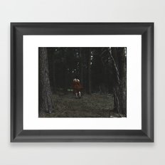 THE WANDERER Framed Art Print