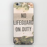 No Life Guard on Duity iPhone & iPod Skin