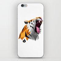 TML Polygon Tiger ROAR!!… iPhone & iPod Skin