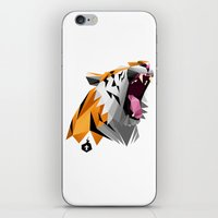 TML polygon tiger ROAR!!! iPhone & iPod Skin