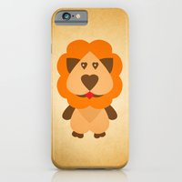 iPhone & iPod Case featuring Lion Heart by MUSENYO