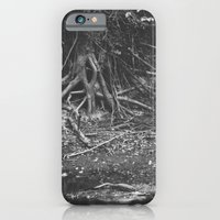 iPhone & iPod Case featuring the alligator and the tree  by Krist Norsworthy
