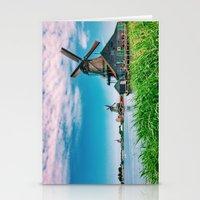 amazing windmills  Stationery Cards