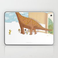 Book Dinossaur Laptop & iPad Skin