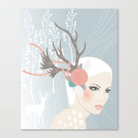 Costume Party 2a Canvas Print