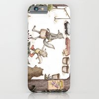 Mr.Brown is late for the market iPhone 6 Slim Case