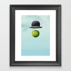 Apple 14 Framed Art Print