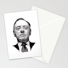 House of Cards - Francis Underwood Stationery Cards