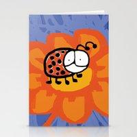 Ladybug 2 Stationery Cards