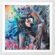 Colorful Me Art Print